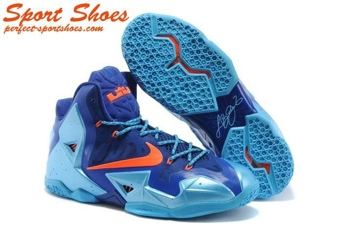 differently 54d91 3e8d3 Cheap Nike Zoom Lebron James XI 11 Basketball Shoes Blue