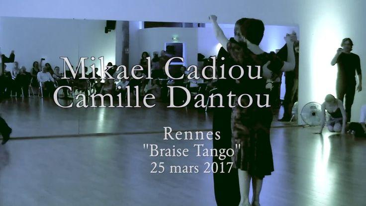Mikael Cadiou et Camille Dantou - Tango, Hugo Diaz 1/3 - Rennes 2017