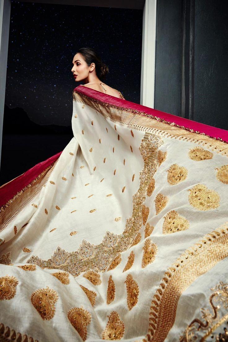 Woven Art Banarsi Silk Saree by Satya Paul