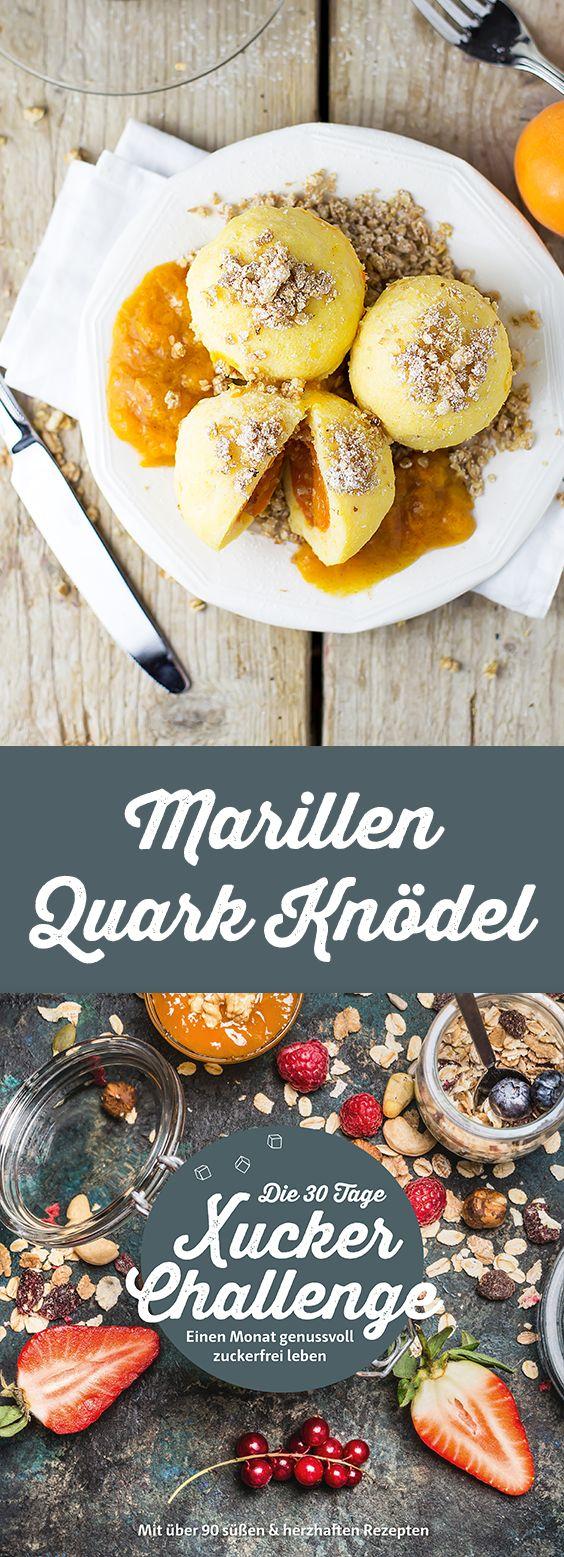Marillen Quark Knödel von Stefanie Anich (www.http://stefaniegoldmarie.com/) Zutaten: 300 g Magerquark, 100 g Grieß, 20 ungesüßtes Vanille-Pudding-Pulver, 2 EL Xucker light, 2 Bio Eier, 8 kleine Marillen, 2 TL Vanille-Xucker, Granola oder Haferflocken Mehr zuckerfreie Rezepte in der 30 Tage Xucker-Challenge: https://blog.xucker.de/die-30-tage-xucker-challenge/