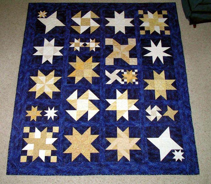 star quilt for Sasquatch