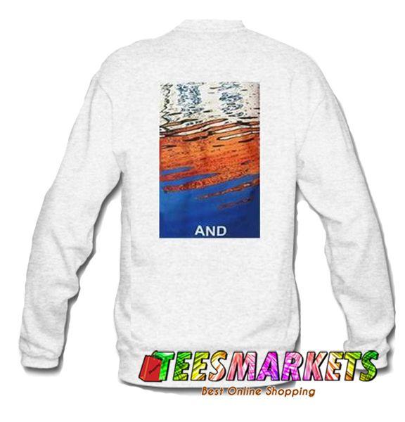 And Sweatshirt Back