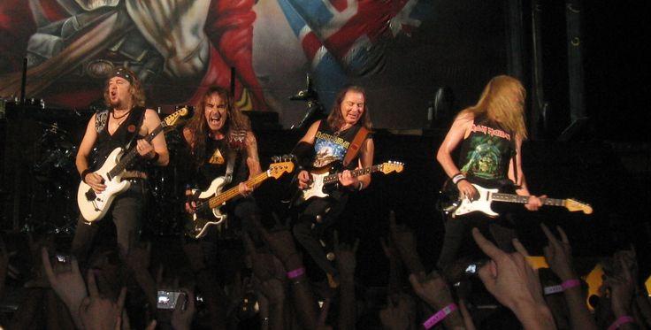 Iron Maiden 音楽ジャンルスラッシュメタル