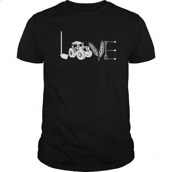 LOVE LOVE LOVE FARMER FarmeR - #mens #cool t shirts for men. CHECK PRICE => https://www.sunfrog.com/Jobs/LOVE-LOVE-LOVE-FARMER-FarmeR-Black-Guys.html?60505