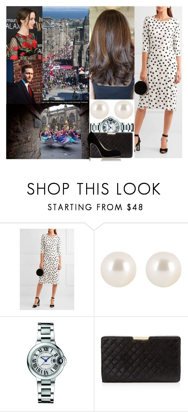 """""""Attending the Edinburgh Festival Fringe with her cousins Lady Maura and Lord Matthew Stuart"""" by maryofscotland ❤ liked on Polyvore featuring Dolce&Gabbana, Henri Bendel, Cartier, Milly and country"""