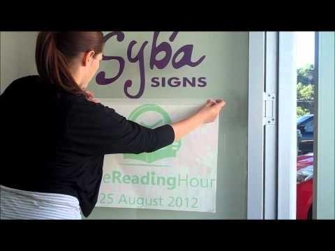 Vinyl Lettering Application Instructional Video