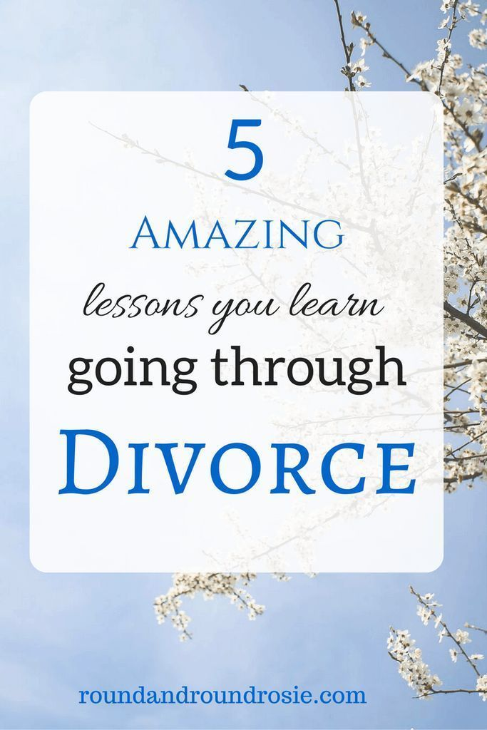 advice for going through divorce