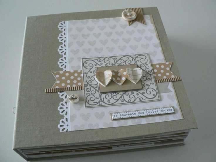 Les 25 meilleures id es de la cat gorie fee du scrap sur pinterest la f e du scrap - Idee scrapbooking album photo ...