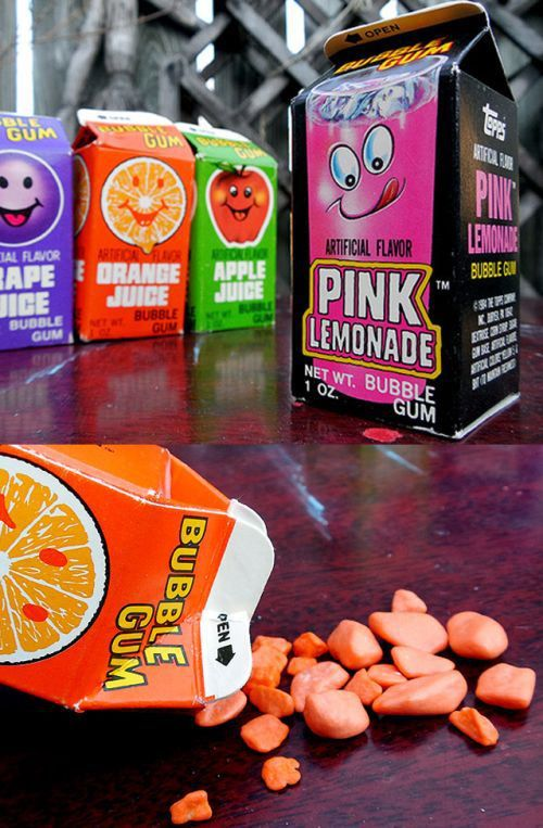 Bubble Juice Gum -