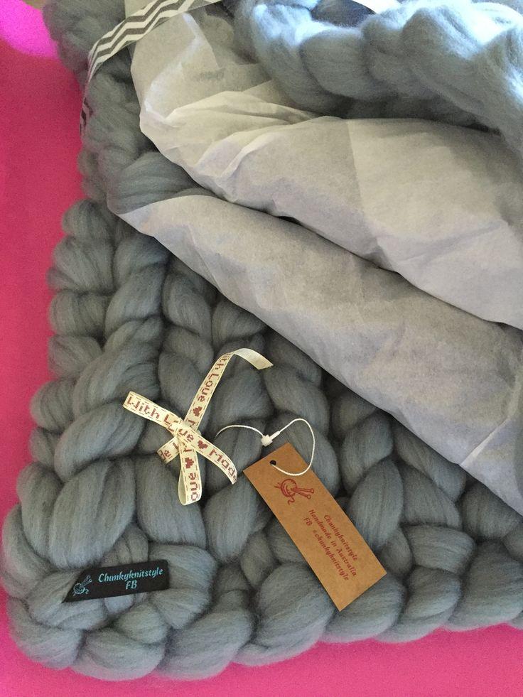 #chunkyknitstyle #blanket #wool #merinowool #handmade #blankets