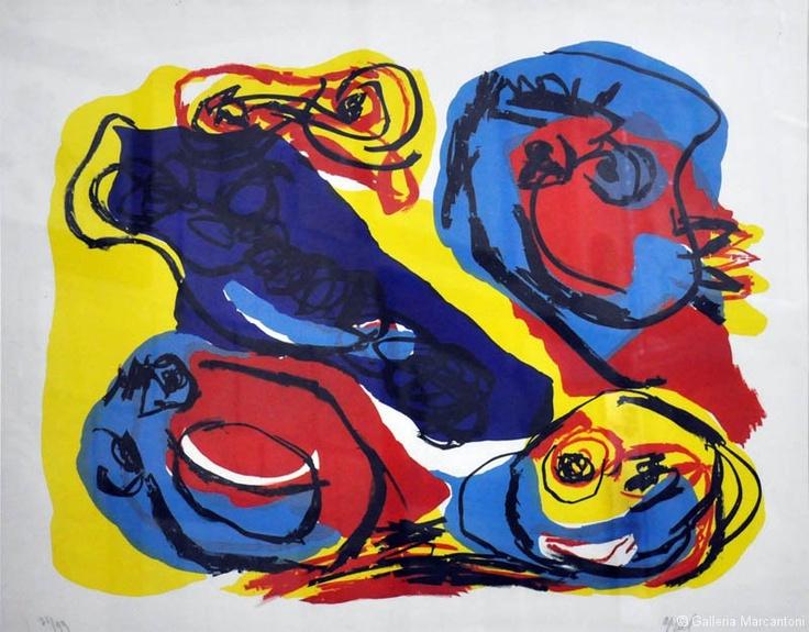 Appel - Litografia    per il prezzo dell'opera scrivere a : info@galleriamarcantoni.it    siamo presenti su:  www.galleriamarcantoni.it  https://www.facebook.com/galleriamarcantoni  https://twitter.com/GallMarcantoni  https://plus.google.com/u/0/118197968336133648874  https://it.foursquare.com/gallmarcantoni  http://www.youtube.com/galleriamarcantoni