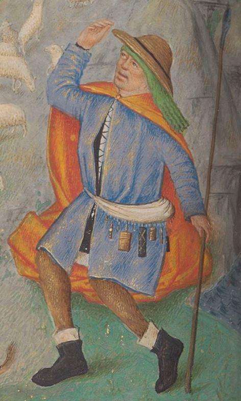 Livre d'heures, en latin et en français, à l'usage de Cambray  1401-1500  Ms-1185 réserve  Folio 113v