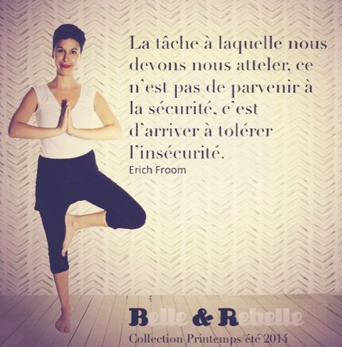 Bon mercredi! #citation #yoga www.belleetrebelle.ca