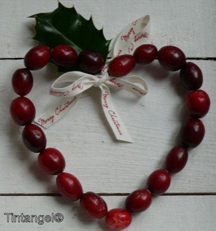 Knutselen met Cranberry's en iets over de Brummeltuun. - Rondom Tintangel