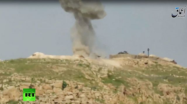 Αντιαρματικός πύραυλος ΚORNET  χτυπάει τουρκικό άρμα μάχης SABRA στο Ιράκ (βίντεο)