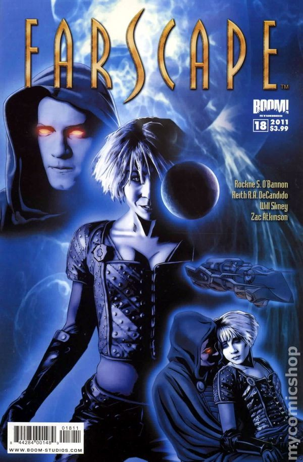 Farscape (2009 Boom Studios Ongoing) 18 Comic book covers