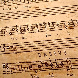 How should Renaissance music be sung?  🎼  Hermann Finck (d. 1558) wrote about choral sound and performance in 1556.