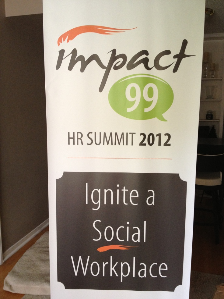 Impact99 social workplace HR summit banner
