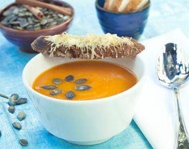 Græskarsuppe med krydderier
