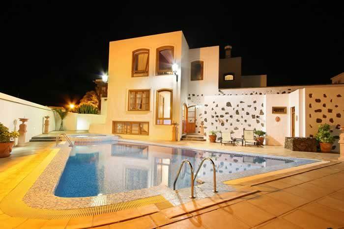 The pool at the Casa de Hilario #Lanzarote #pool