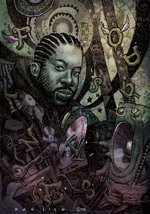 Lord Finesse, Ego Strip Series by Dan Lish