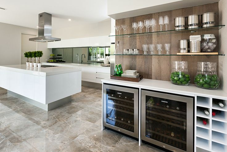 This spacious kitchen from Stylemaster Homes is perfect for the family.