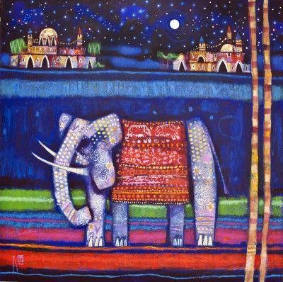 Scottish Artist Ritchie COLLINS-Silk Road