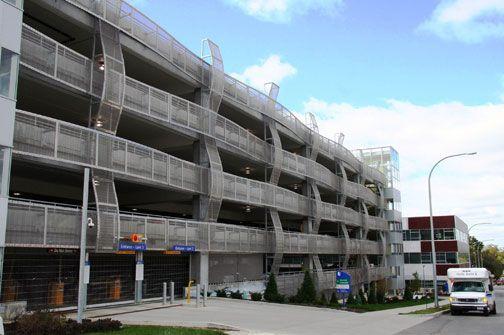 Parking Garage Design User Experience Parking