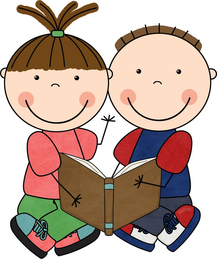 scrappin doodles clipart | Index of /images/scrappin_doodles/reading_kids