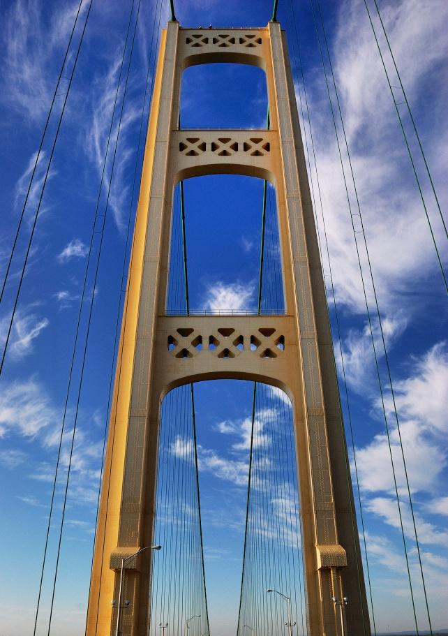 Mackinac Bridge Tower.