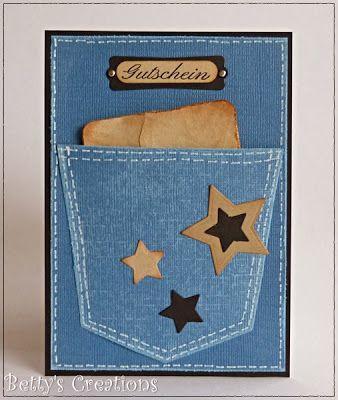 Ein Jeans-Gutschein - Bettys-creations