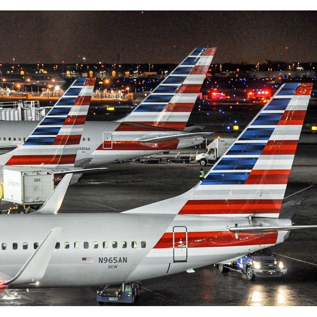 American Airlines Tails