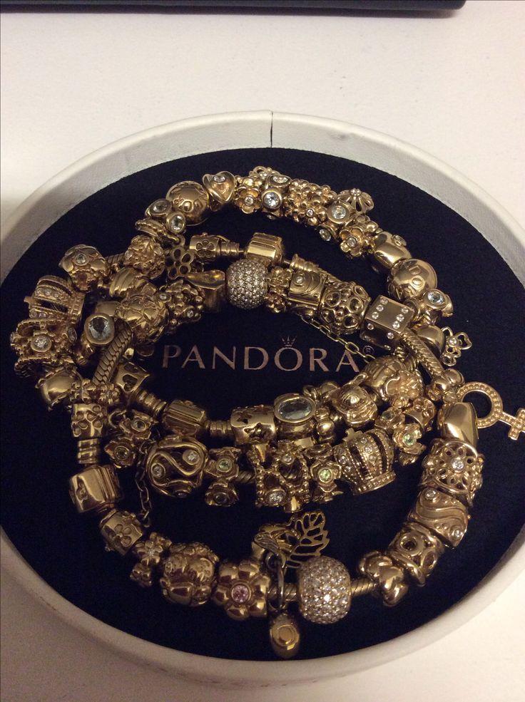 Gold pandora.  The Queen Elizabeth Collection!!!!
