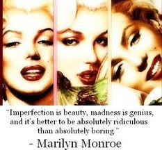 Oh Marilyn you wise women you!