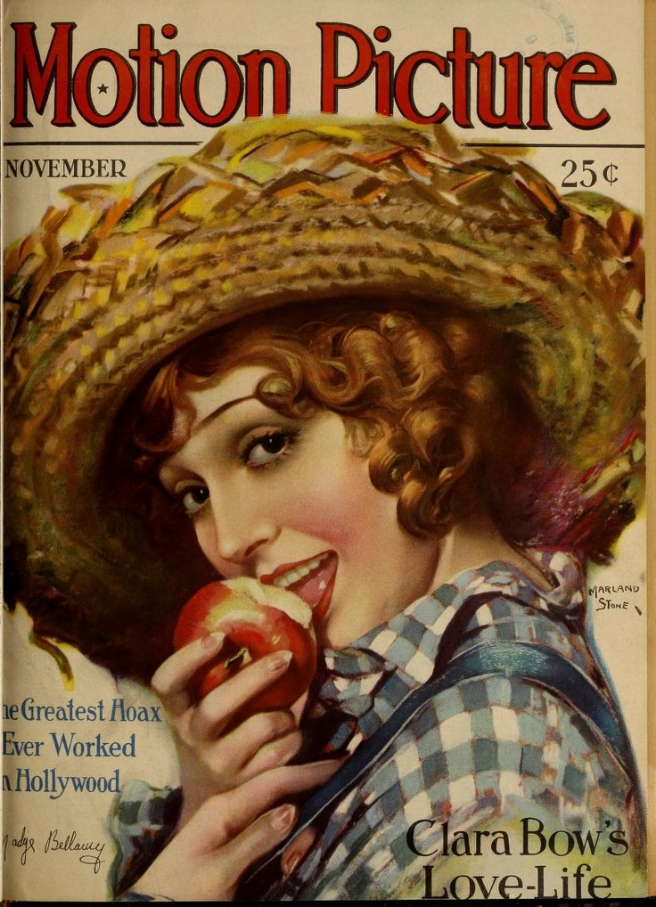 Madge Bellamy on Motion Picture Magazine