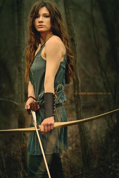 Pretty archer! ;)