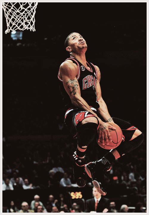 derrick rose..cant wait till hes back, and wins us a championship.