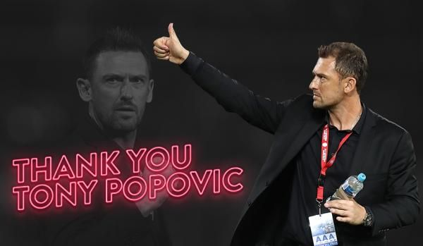 01.10.17:Tony Popovic pursues overseas opportunity. We have today parted ways with foundation head coach Tony Popovic. Following five successful seasons at the Wanderers which included three Hyundai A-League Grand Final appearances, a Premiers Plate and the 2014 AFC Champions League Trophy, Popovic will depart the club to pursue an overseas opportunity in the next step of his coaching career.