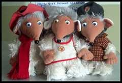 I love the wombles! Especially Orinocco and then Wellington too...