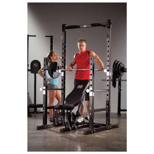 Fitness Equipment For Home Power Rack & Bench Pull Up Bar Versatile Adjustable in Sporting Goods, Fitness, Running & Yoga, Fitness Equipment & Gear, Resistance Trainers | eBay