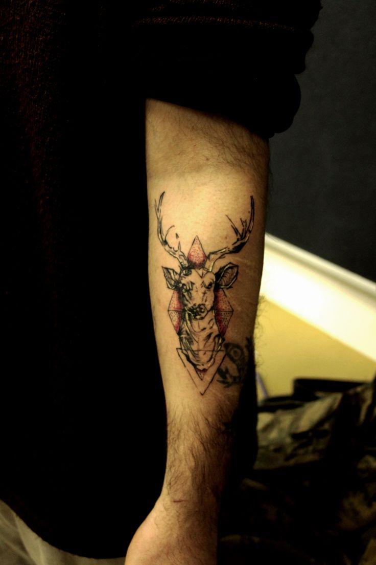 geyik dövmesi(deer tattoo)