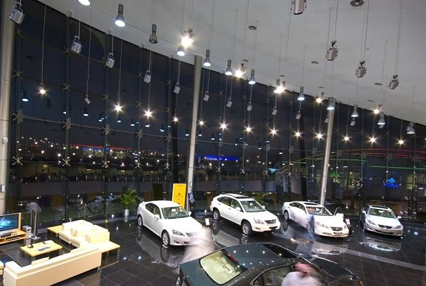 Lexus Car Showroom