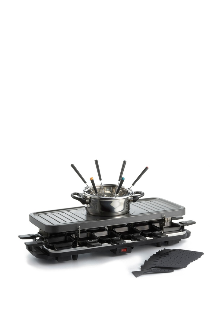 Fondue and Raclette set. WANT.