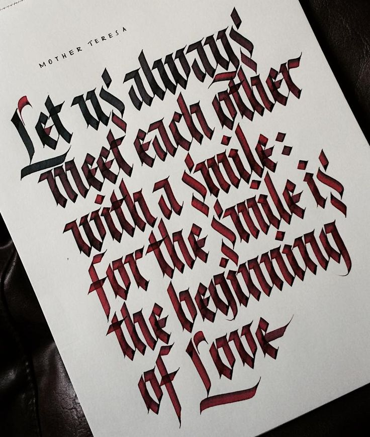 84 Best Calligraphy Images On Pinterest Typography