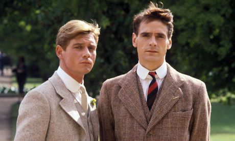 Anthony Andrews and Jeremy Irons in Brideshead Revisited´´