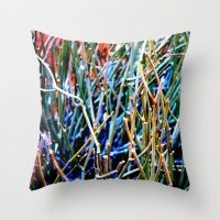 Outback Succulent Throw Pillow
