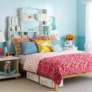A headboard can maximize untapped space in your bedroom.