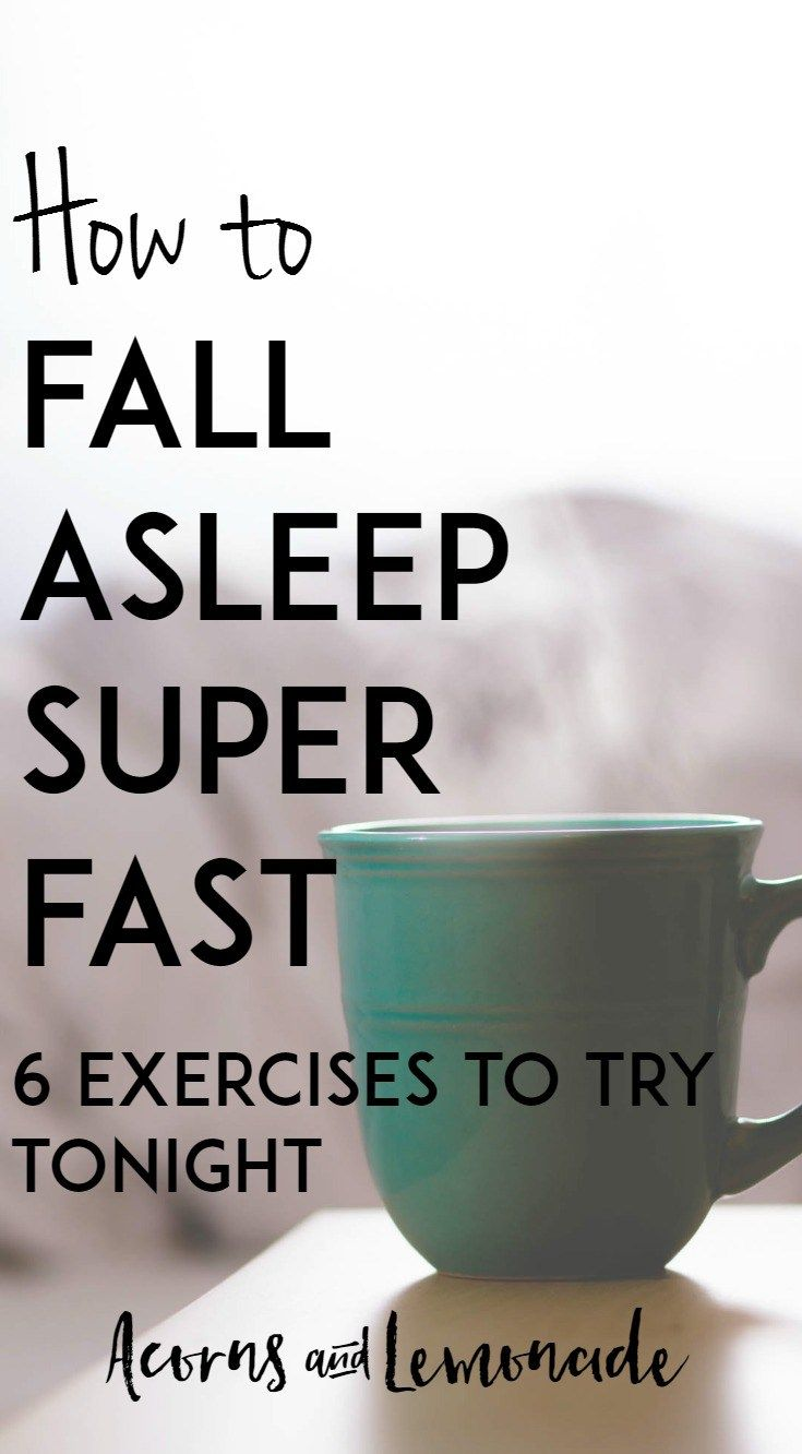 6 Ways To To Get To Sleep Super Fast