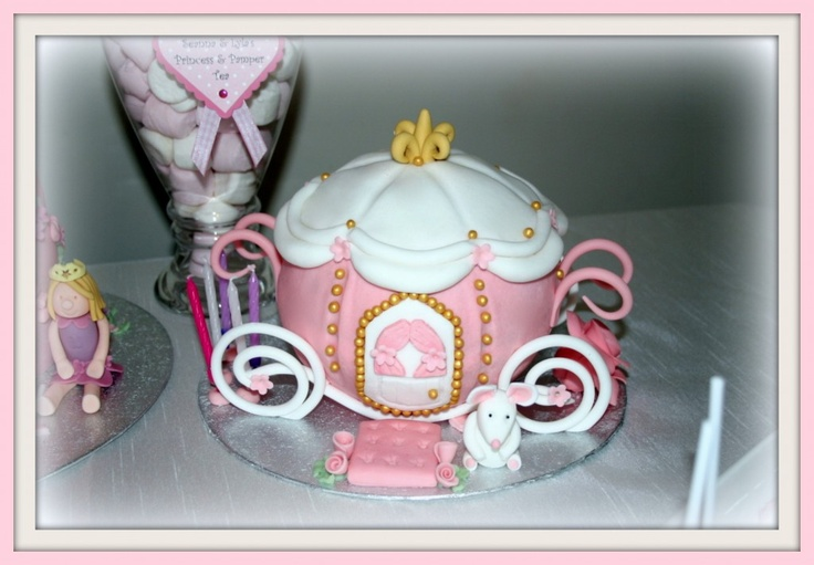 Fairytale Carriage Cake