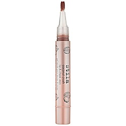 Lip Stain- Sephora but should be at other places like Nordstrom. With earthy make up, browned tint may be best- coconut. Stain so I can do the clear gloss at wedding.